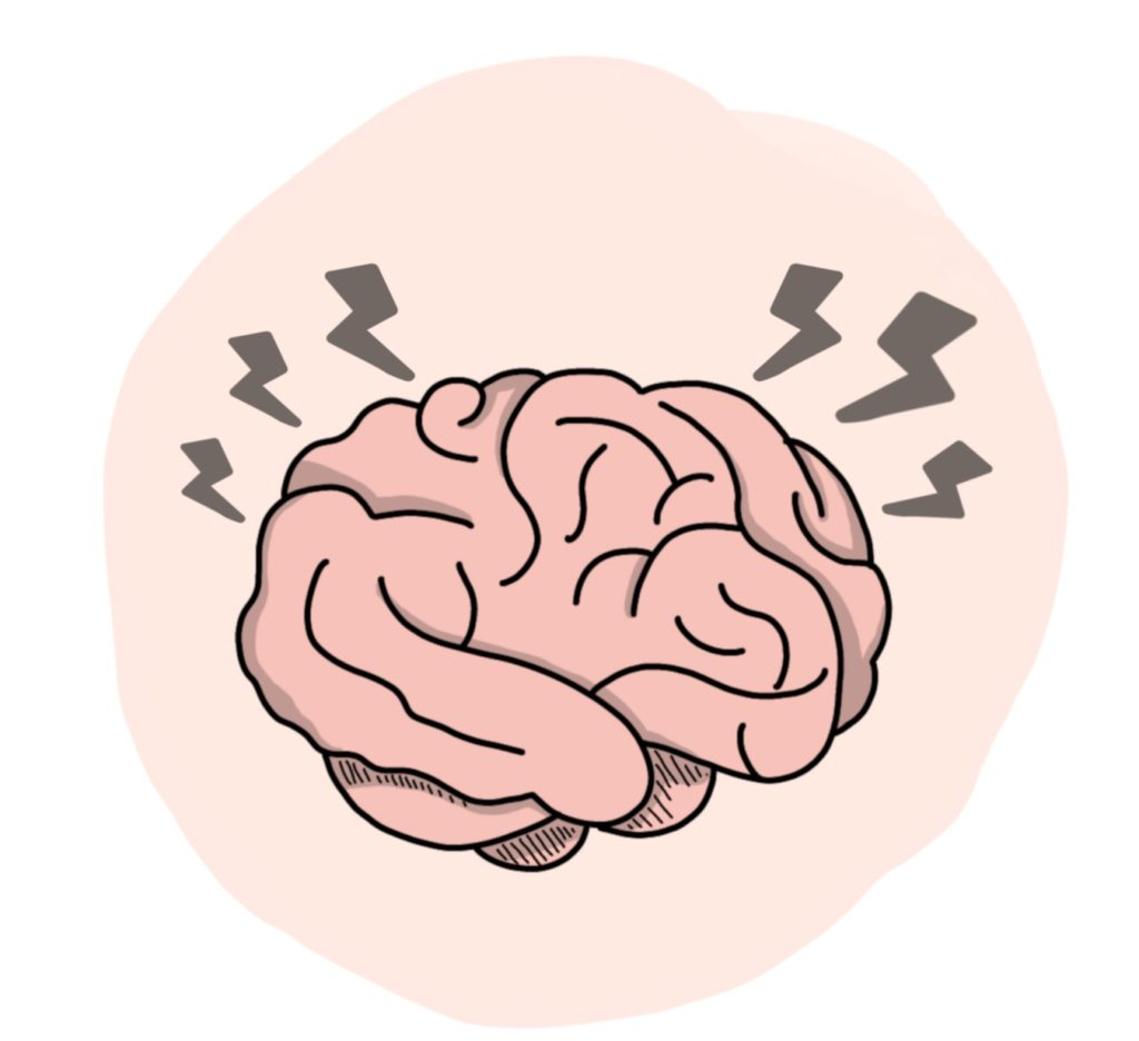 Haarausfall Ursache: Zu viel Stress